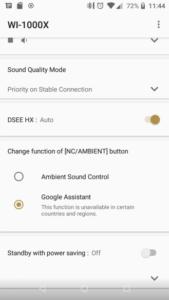Abilitare il Google Assistant su cuffie Sony
