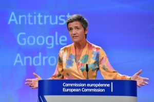Google adegua Android per Multa antitrust UE